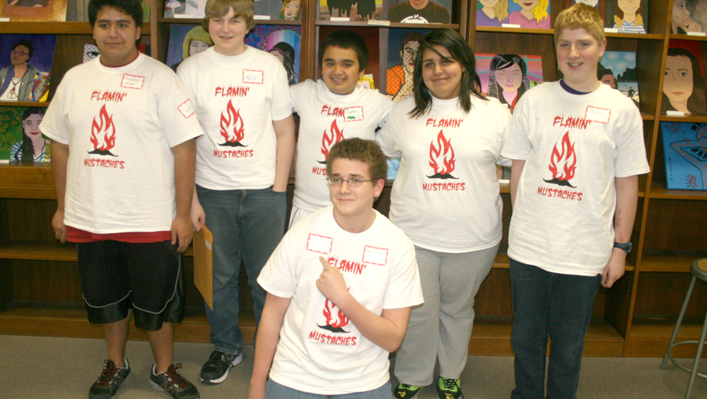 Marshalltown battle of the books team