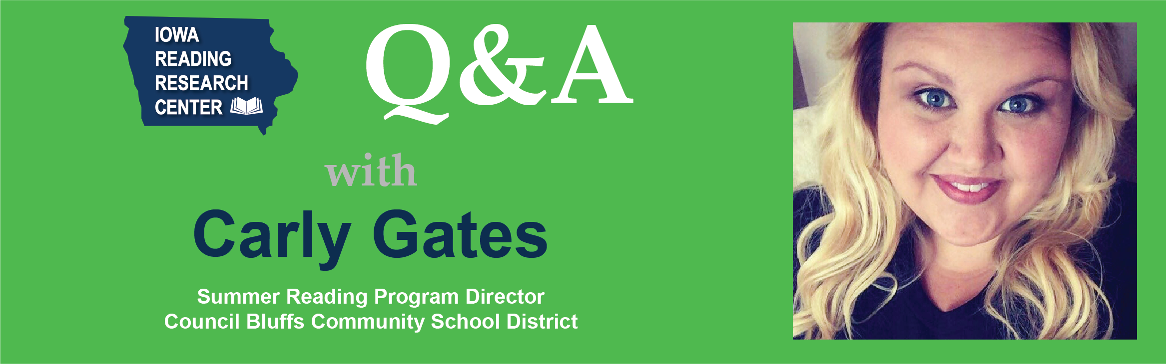 Q&A with Carly Gates