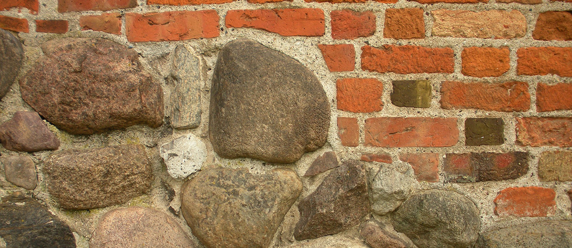 stone and brick foundation