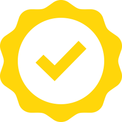 Yellow checkmark