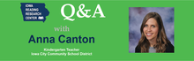 Q&A with Anna Canton