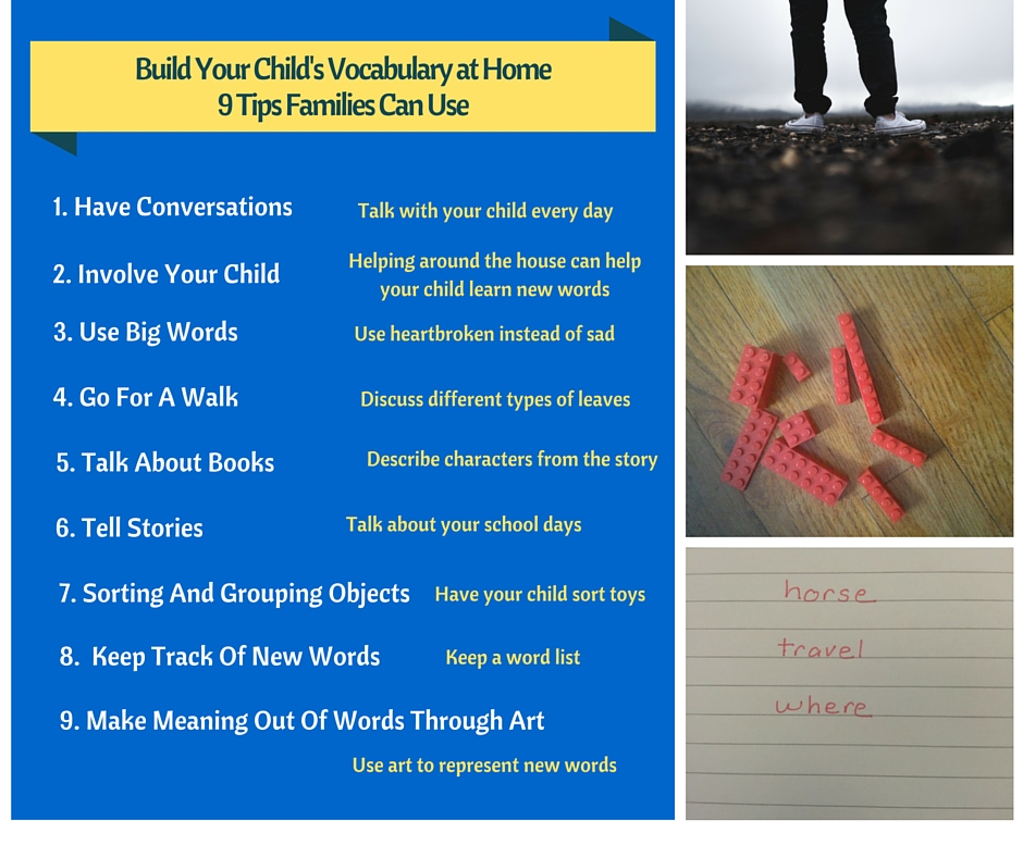 Build Your Child's Vocabulary at Home